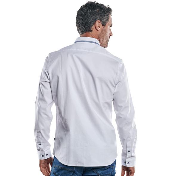Edles Langarmhemd mit festlichem Button-Down-Kragen