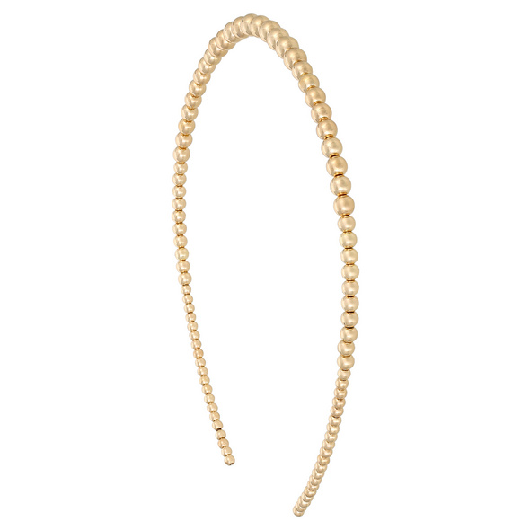 Haarreif - Golden Pearls