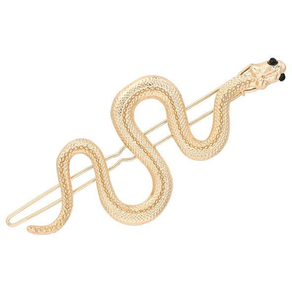 Brosche - Golden Snake