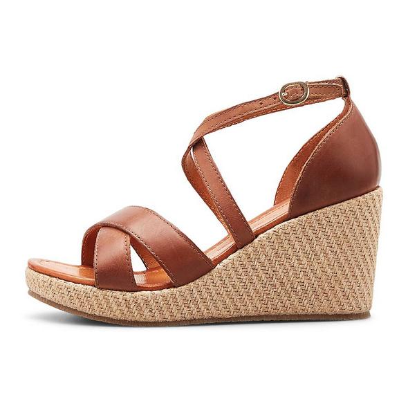 Keil-Sandalette
