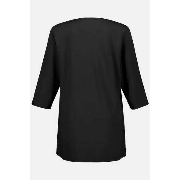 Shirt, länger geschnitten, 3/4-Arm, selection