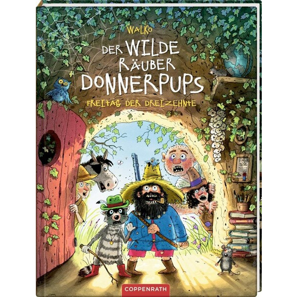 Der wilde Räuber Donnerpups (Bd. 3)