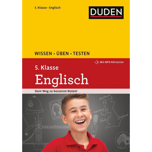 Wissen – Üben – Testen: Englisch 5. Klasse