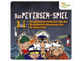 Das Petersen Spiel - Seemannsgarn-Mau-Mau und Klabautermann-Skat